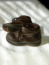 Leather Buster Brown Lace-up shoes / boots - Toddler Boys 7 in Kingwood, Texas