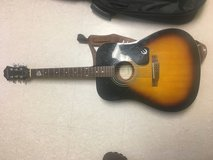 Epiphone acoustic guitar in Camp Humphreys, South Korea