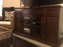 Moving Sale Media TV Stand in Yorkville, Illinois