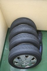 Set of four 165/65 R14 Tires in Okinawa, Japan