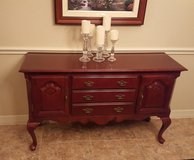 Solid wood cherry finish buffett. in Fort Sam Houston, Texas