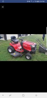 Troy-Bilt Bronco 19-HP Automatic 42-in Riding Lawn Mower in Leesville, Louisiana