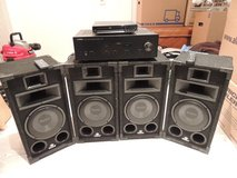 PCS Sale: Yahama Amplifier, AWOL CD Player, Magnat Speakers in Stuttgart, GE