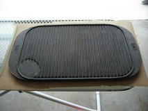 "10"" x 16"" two sided cast iron griddle in Schaumburg, Illinois"