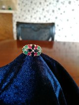 Ruby, Emerald and Sapphire Ring w/Diamond accent in San Antonio, Texas