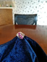 Ruby Ring in yellow gold in San Antonio, Texas