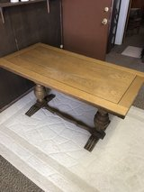 Solid wood table in Alamogordo, New Mexico