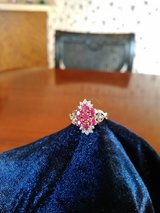 Ruby/Diamond Ring in yellow gold in Converse, Texas