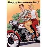 Harley, will you be my Valentine? in Rota, Spain