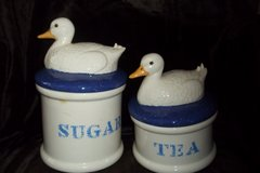 Set of 2 Duck Canisters in Baytown, Texas