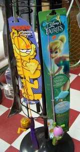 Garfield and Tinkerbell Fishing Rods in Fort Polk, Louisiana