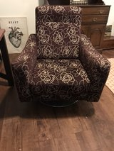upholstered swivel chair in Beaufort, South Carolina