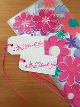 7 Goody Bags With Thank You Tags Handmade in Ramstein, Germany