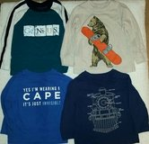 Lot of 4 Graphic Printed Long Sleeve T-Shirts - Toddler  18m - 24m in Kingwood, Texas