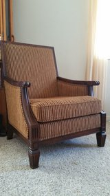 Decorative chair from Ashleys furniture in Temecula, California