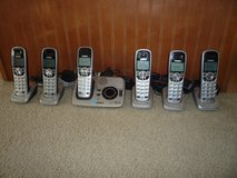 ***UNIDEN CORDLESS PHONE SET W/6 HANDSETS*** in Lancaster, Pennsylvania