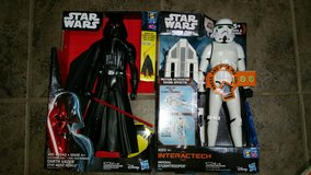 Star Wars Dart Vader and Imperial Stormtrooper in Travis AFB, California