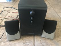 Alter Lansing Computer/Aux with subwoofer in Alamogordo, New Mexico
