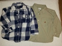 2 Gap Button Down Shirts - Toddler Boys in Kingwood, Texas