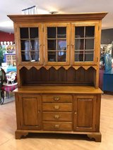 Ethan Allen Maple China Cabinet Hutch Original Finish or Pick your paint color in Fort Leonard Wood, Missouri