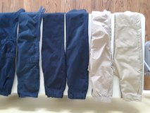 uniform pants (boys) blue and tan (6 pairs) in Lockport, Illinois