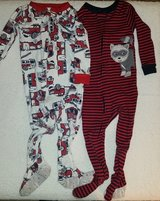 Carter's One Piece Pajamas - Toddler Boys 18 month in Kingwood, Texas
