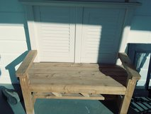 Hand made bench. You finish! in Alamogordo, New Mexico