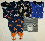 5 Carter's One Piece Pajamas - Boys Toddler in Kingwood, Texas