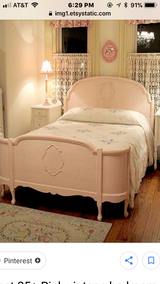Full bed serpentine footboard softbpink in Morris, Illinois