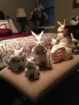 Easter Rabbit decorations in Kingwood, Texas