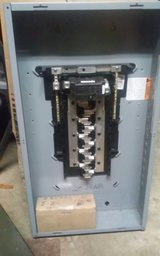 SQUARE D SERVICE BOX, new box cover and breakers in Fort Leonard Wood, Missouri