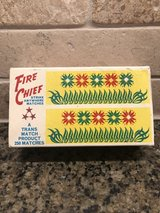 Vintage Fire Chief matches in Joliet, Illinois
