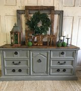 Vintage Dresser- Gray in Kingwood, Texas