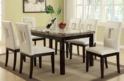 7PC DINING SET FREE DELIVERY in Huntington Beach, California