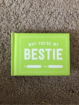 "NEW *Fill in the Blank Gift Book ""Why You're My Bestie"" in Okinawa, Japan"