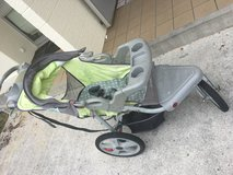 Jogging stroller in Okinawa, Japan