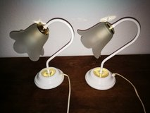 220v pair of side table lamps in Ramstein, Germany