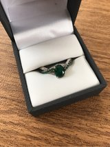EMERALD AND DIAMOND RING in Sugar Grove, Illinois
