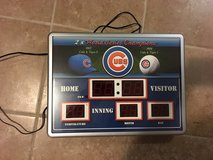 Chicago Cubs Scoreboard Clock in Chicago, Illinois