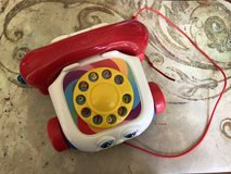 Toy Chatter Telephone Pull Fisher Price Brilliant Basics in Naperville, Illinois