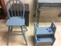 Kids chair and step stool in Fairfax, Virginia