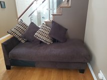 Brown Fabric Chaise Lounge in Elgin, Illinois
