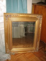 gold beveled french mirror in Westmont, Illinois