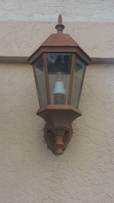 2 Garage Sconces Weathered Bronze with 60w bulbs in Camp Pendleton, California