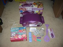 Easy Bake Ultimate Oven purple + accessories + NEW Decorating Frosting Pen in Algonquin, Illinois