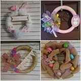 Easter Wreaths in Chicago, Illinois