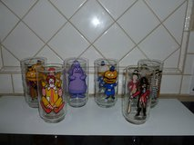 Six McDonald's Vintage Glasses in Sandwich, Illinois
