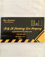 R&K Parking Lot Striping in Leesville, Louisiana