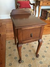 Antique Side Table (with drawer) in Macon, Georgia