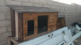 Rabbit or small animal cage in 29 Palms, California